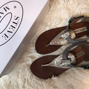 Gently Used: Steve Madden Glitter Sandals